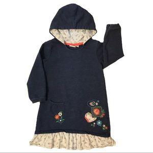 Hooded Girls Dress/Tunic